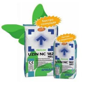 Ремонтная быстровысыхающая шпаклевка UZIN NC 182 NEU (УЦИН НЦ 182) 12,5 кг