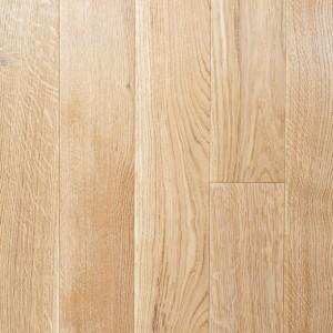Массивная паркетная доска Дуб рустик под лаком, цвет Натуральный дуб (15 х 120 х 500-1000) мм