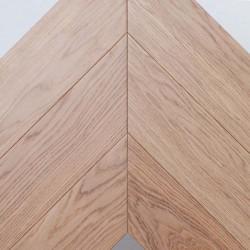 Инженерная паркетная доска Французская елка дуб без покрытия (15 х 90 х 600 мм) сорт микс