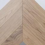 Инженерная доска Французская елка дуб натур без покрытия (15 х 120 х 620 мм)