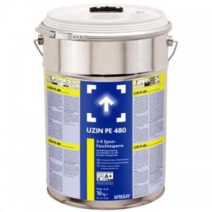 Двухкомпонентный эпоксидный блокиратор влажности UZIN PE 480 (10 кг)