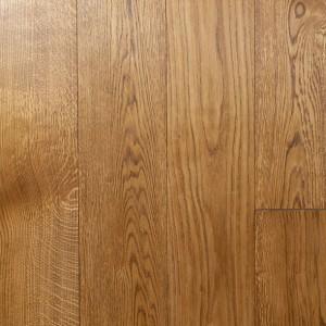 Массивная паркетная доска Дуб натур под маслом AB Basic Brown (15 х 120 х 500-1000 мм)